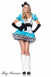 Leg Avenue Costume Alice 2pz | LA83773